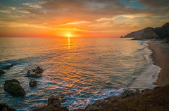 Malibu Beach Sunset! Red Orange Yellow Malibu PCH Fine Art Landscape Seascape Photography: Sony A7RII Pacific Ocean Nature : Brilliant California Ocean Colorful Clouds Long Exposure Water Reflections! Carl Zeiss Sony T* FE 16-35mm f/4 ZA OSS 8K Resolution (45SURF Hero's Odyssey Mythology Landscapes & Godde) Tags: malibu beach sunset red orange yellow pch fine art landscape seascape photography sony a7rii pacific ocean nature brilliant california colorful clouds long exposure water reflections carl zeiss t fe 1635mm f4 za oss 8k resolution