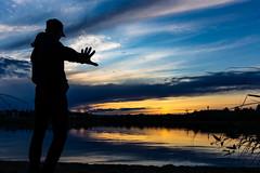 silence please (VisitLakeland) Tags: finland kuopio lakeland summer auringonlasku evening ilta järvi kesä lake luonto maisema nature outdoor scenery silhuet siluetti sunsets water