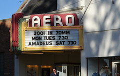 2001 - American Cinematheque, Aero Theatre, Santa Monica (BudCat14/Ross) Tags: cinemas theaters aero 2001 santamonica california americancinematheque marquees