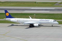 Lufthansa CityLine Embraer ERJ-190-100LR D-AECA Deidesheim (EK056) Tags: lufthansa cityline embraer erj190100lr daeca deidesheim zürich airport
