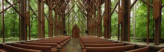 Hot Springs - The Antony Chapel Panorama