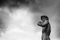 David (Fabio Cafà) Tags: david michelangelo buonarroti firence florence piazzadellasignoria italia statue statua scultura vacanze holiday wow picture blackandwhite