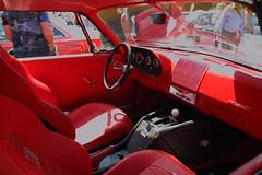 IMG_4974 (JoRoSm) Tags: hebden bridge classic vintage car show 2018 cars autos canon eos 500d tamron 1750 f28 mopar hemi 300 interior dash steering wheel cockpit red
