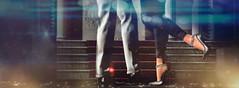 [Oh la la city blues] ({{Timaaj}}) Tags: shoes night lights
