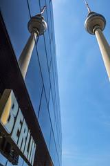 TV Tower Berlin Alexanderplatz (Lens Daemmi) Tags: berlin deutschland de tv tower fernsehturm alexanderplatz reflection spiegelung
