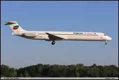 "MD82 ""Bulgarian Air Charter"" LZ-LDN 53216 Entzheim mai 2018 (paulschaller67) Tags: md82 bulgarianaircharter lzldn 53216 entzheim mai 2018"