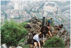 Climb & climb (Dương Khánh Hoàng) Tags: minoltasrt201 kodakultramax400 hạlong climb