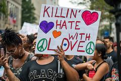 Killin' Hate_ (Mobilus In Mobili) Tags: alloutdc shutitdowndc stillherestillstrong unitedagainsthate unitetheright2 dc protest washington districtofcolumbia unitedstates us