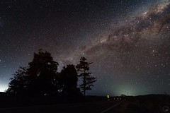 The view at the corner of State Hwy 2 and Paierau Rd. (Robert Brienza) Tags: 2018 canon7d masterton newzealand nightphotography nightsky rural wairarapa winter milkywaygalaxy canon1022 wideanglelens