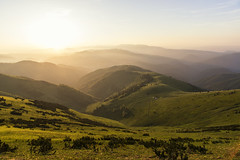 Simply Paradise (mystero233) Tags: paradise slovakia slovensko sunrise dawn sun light rays hills mountains nationalpark park np green lush salas sky clear morning nature europe travel hike home outdoor landscape velka fatra narodny
