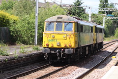 COATBRIDGE CENTRAL 86613, 86627 (johnwebb292) Tags: electric class 86 86613 86627 freightliner coatbridge