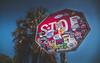 Stop acting like you live twice. (catrall) Tags: stopsign stop twice live florida miami keywest palm palmtree nikon d750 sigma sigmalens march 2018 usa us
