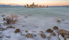 sunset over Mono Lake (lucmena) Tags: losangeles ca usa mono lake california eastern sierra outdoor nature landscape tufa sunset long exposure scenic ngc