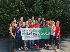 Broome earns the WellBusiness award for 2018