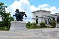 Philadelphia, PA - Fairmount Park West - Please Touch Museum (jrozwado) Tags: northamerica usa pennsylvania philadelphia fairmountpark park museum pleasetouch statue horse