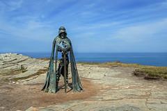 King Arthur (Steve, W) Tags: king tintagel arthur knight sea sky d7500 nikon rock cliff ocean