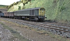 CoBo D5708 Works a Short Freight. (ManOfYorkshire) Tags: d5708 cobo heljan limitededition metrovic 176 scale oogauge diorama homemade weathered professional professionally detailed britishrailways green yellowfront mainline