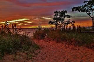 Chesapeake Bay Sunset Scene 2018