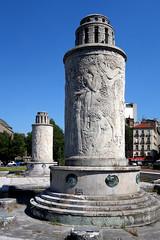 Fontaines de Landowski (frediquessy) Tags: artdéco paris paullandowski sculpture saintcloud pilier basrelief