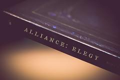 alliance: elegy [Day 3518] (brianjmatis) Tags: battleforazeroth blizzard photoaday videogame novel wow collectorsedition book worldofwarcraft warcraft project365 sanluisobispo california unitedstates us