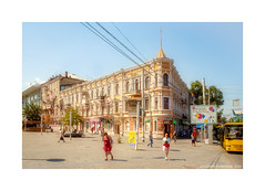 XIX century (Alexandr Voievodin) Tags: cityscape streetphotography building architecture place people olympusomdem10markii ngc
