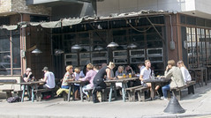 DSC_6722a Shoreditch London Sclater Street Smokestak Restaurant stylishly rustic barbecue joint with a bar and terrace. (photographer695) Tags: shoreditch london sclater street smokestak restaurant stylishly rustic barbecue joint with bar terrace