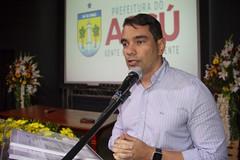 Prefeito de Assú, Gustavo Montenegro, participou da apresentação da pesquisa
