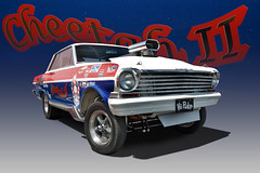 1964 Chevy Nova Gasser - Cheetah II (Brad Harding Photography) Tags: 1964 64 chevrolet chevy nova gasser hotrod streetrod hipuke cheetahii bowtie carshow antique restoration restored racing dragster ameristarcasino streetcartakeoverkickoffparty
