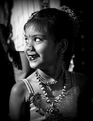 The smile (magiceye) Tags: street streetphoto streetportrait mumbai monochrome maharashtra blackandwhite bnw holi koli festival vesave versova india
