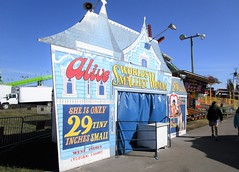 World's Smallest Woman 9221 (Tangled Bank) Tags: visiting 2018 south florida state fair amusement attractions worlds smallest woman 9221 americana