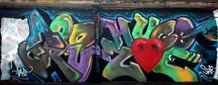 graffiti Koog aan de Zaan (wojofoto) Tags: koogaandezaan graffiti streetart nederland netherland holland wojofoto wolfgangjosten