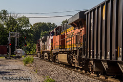 BNSF 730 | GE C44-9W | BNSF Thayer South Subdivision (M.J. Scanlon) Tags: atsf atsf643 atchisontopekasantafe bnsf643 bnsf730 bnsf7545 bnsfrailway bnsfthayersouthsubdivision business c449w canon capture cargo commerce digital eos es44dc engine freight ge haul horsepower image impression landscape locomotive logistics mjscanlon mjscanlonphotography memphis merchandise mojo move mover moving outdoor outdoors perspective photo photograph photographer photography picture rail railfan railfanning railroad railroader railway rocktrain santafe scanlon steelwheels super tennessee track train trains transport transportation unittrain view warbonnet wow ©mjscanlon ©mjscanlonphotography uslomem bnsfuslomem