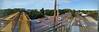IMG_20180607_163727437-PANO (SweetMeow) Tags: usga usopen shinnecockhillsgc merchandisetent pedestrianwalkway route27