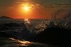 Early morning / Estaleiro Beach (alestaleiro) Tags: wave ola onda splash mar ocean oceano mer rock sea praiadoestaleiro sunrise amanecer amanhecer sole sun sol soleil estaleirobeach alestaleiro