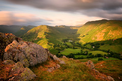 Martindale View (Andy Watson1) Tags: hallin fell hallinfell martindale morning light view lake district national park lakedistrict cumbria england united kingdom great britain landscape longexposure scenery countryside june sunrise shadow clouds rocks outdoor nature