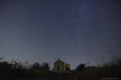 St . Juraj at Night near Bribir and Selce Croatia