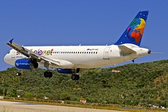 JSI/LGSK: SmallPlanet Airbus A320-233 SP-HAC (Roland C.) Tags: airliner aircraft airplane airbus a320 a320200 sphac jsi lgsk airport skiathos aviation smallplanet smallplanetairlines