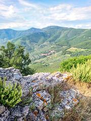 vista su montemagno (saveriosalvadori) Tags: pisa roccadellaverruca tuscany toscana sky cielo landscape