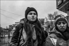 5_DSC5113 (dmitryzhkov) Tags: urban city everyday public place outdoor life human social stranger documentary photojournalism candid street dmitryryzhkov moscow russia streetphotography people man mankind humanity bw blackandwhite monochrome snow snowfall badweather