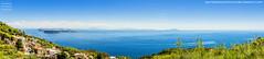 Ischia, panoramica sul Golfo di Napoli (Giorgio Di Iorio Photo) Tags: ischia fotopanoramica panoramica golfodinapoli vivara procida campagnano isoladischia paesaggi landscape trekking belvedere