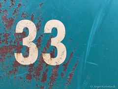 Number 33 (Jürgen Kornstaedt) Tags: iphone 6plus toulouse occitanie frankreich fr 33