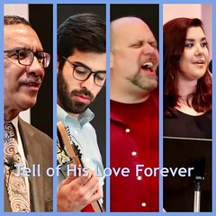 Church Ad:  Sing of His Love Forever! (nomad7674) Tags: beacon hill church efca ad advertisement diptic diptych grid collage worship sing his love forever