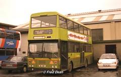 Dublin Bus KD362 (GSI362). (Fred Dean Jnr) Tags: dublin april1998 dublinbus busathacliath dublinbustwotonegreenlivery dbrook donnybrook dublinbusdonnybrookgarage bombardier kd362 si gsi362