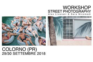 http://www.inquadra.org/it/workshops-it/street-photography-colorno-alex-liverani-e-sara-nicomedi-29-30-settembre-2018/