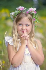 Lily 537 B (jim.choate59) Tags: green jchoate on1pics portrait child fairytale princess woodland flowers field cute adorable d610 girl