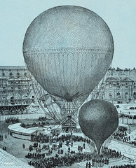 Large Captive Steam Balloon of the Tuileries Courtyard, Paris by artist Henri Gifford (1825-1882) at Lahure, rue de Fleurus 1878. Original from Library of Congress. Digitally enhanced by rawpixel. (Free Public Domain Illustrations by rawpixel) Tags: achievement air albert alberttissandier antique art balloon captive captivesteamballoon courtyard deco decor decoration drawing england exhibition floating giant giffard gifford graphite henri henrigifford hotairballoon illustrated illustration lahure lahureruedefleurus large largecapitive largecaptivesteamballoon launching net old paris ruedefleurus science scientific site sketch steam steamballoon transportation tuileries tuileriescourtyard vintage