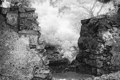 The Gateway (Infrakrasnyy) Tags: infrared bw 093 deep black white colorless monochrome sony nex 5n full spectrum ireland erie irish sligo
