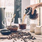 Beans beverage black coffee - Credit to https://homegets.com/ thumbnail