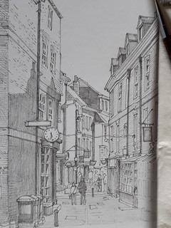 Minster Gates and Stonegate, York