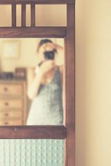 through my mirror (xelea) Tags: 7dwf portrait selfie mirror espejo